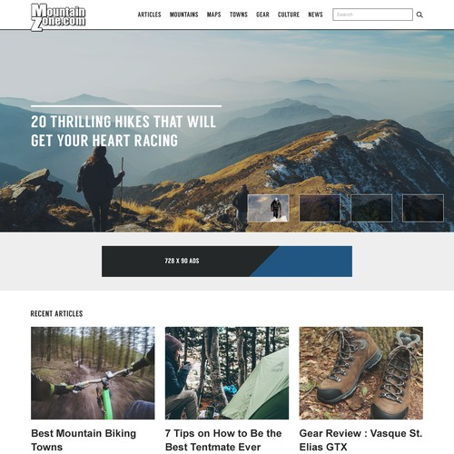 Mountain Zone Website