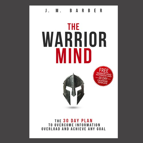 """The Warrior Mind"" - Spartan Helmet or Warrior Helmet Graphic"