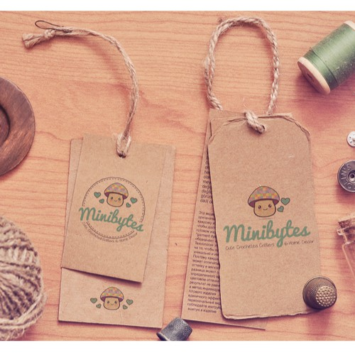 Design a new cute logo for Minibytes!