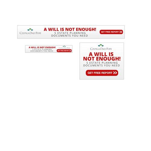 Simple Banner ad Design