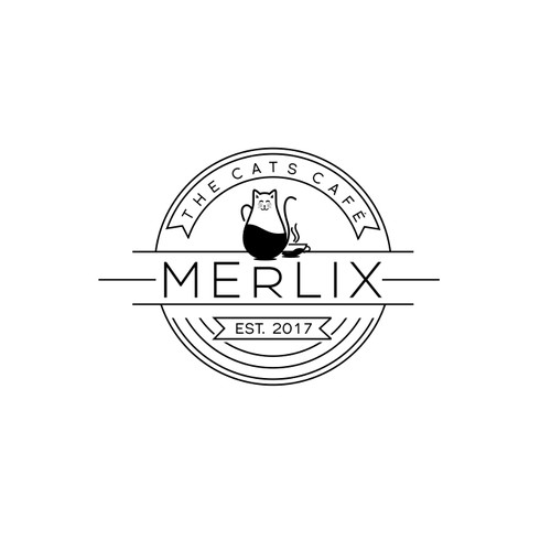 Merlix cats cafe is looking for its new logo !