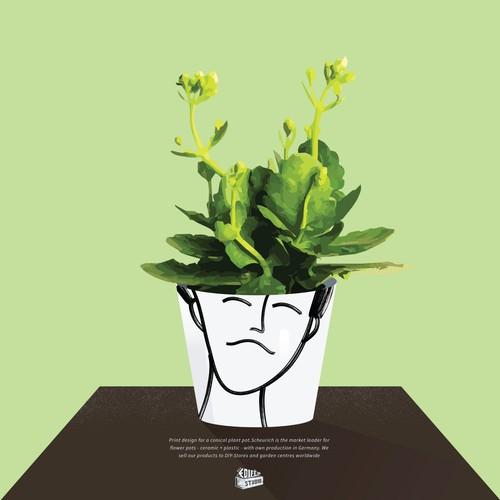Illustration for a product design