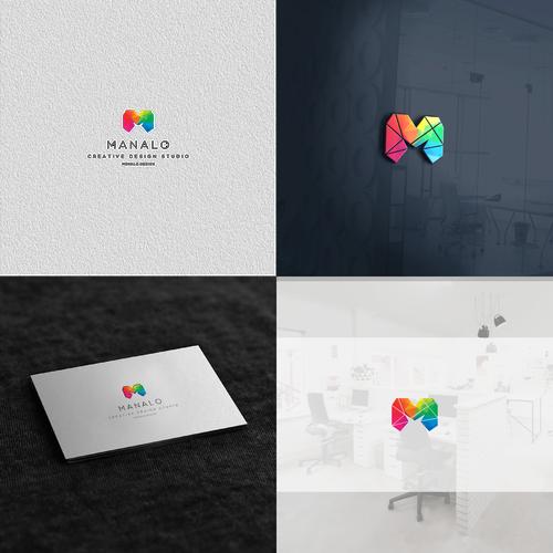 logo for Manolo Creative Design Studio.