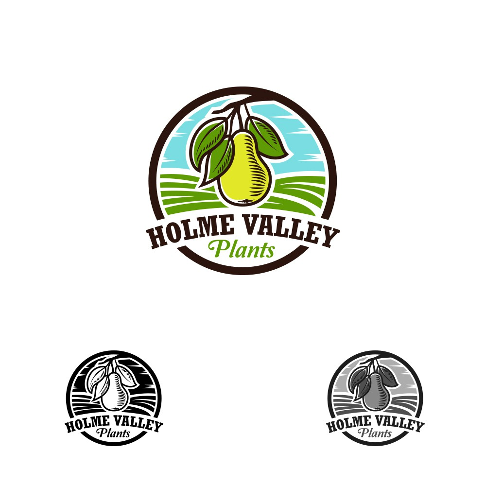 Make a mouthwatering, memorable logo for a grow your own business.
