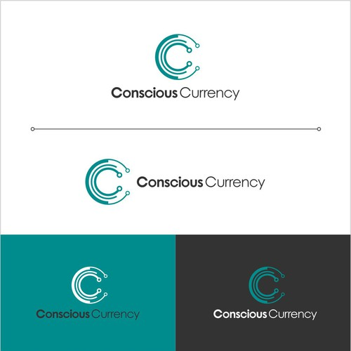 logo concept for conscious currency