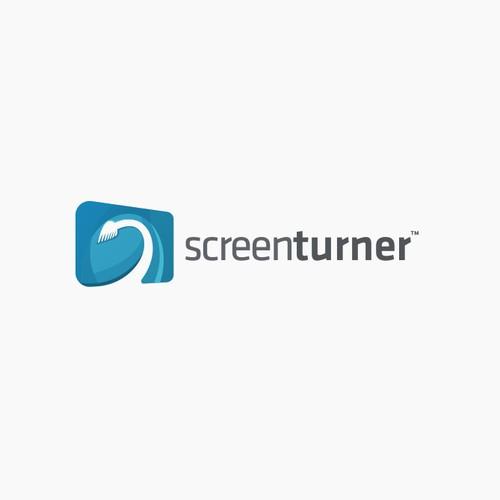 Logo design for screenturner