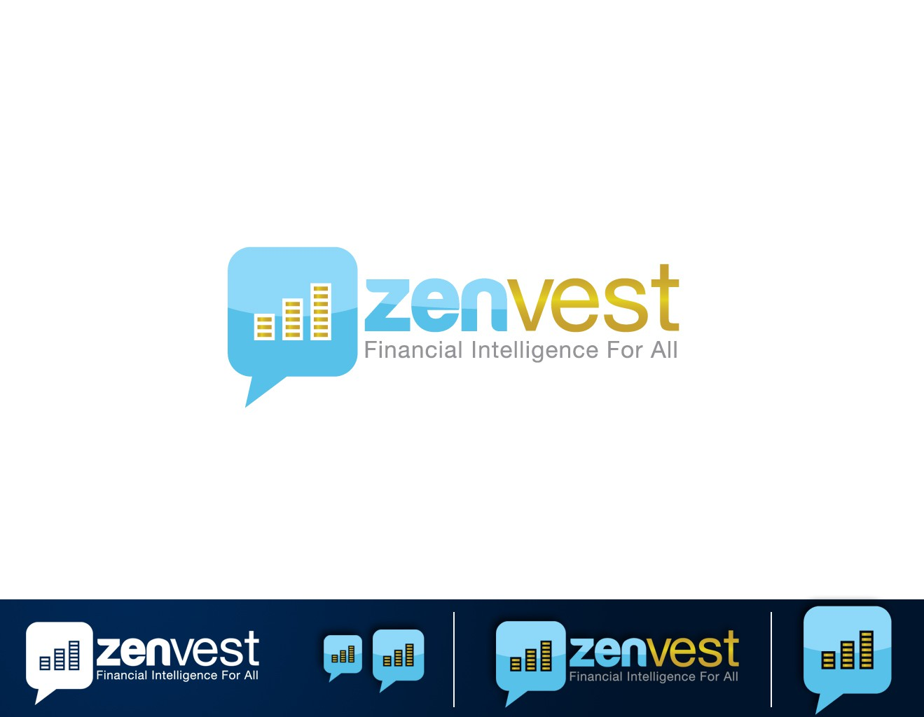 Logo required to create brand image/awareness for a social network for traders and investors