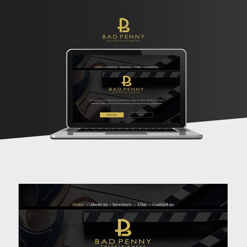 film compeny webpage design