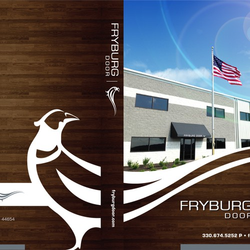 Fryburg Door needs your help designing Customer Product Notebook Inserts