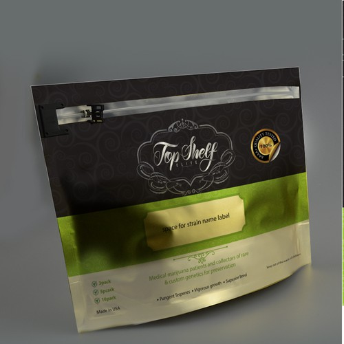 Top Shelf Package design