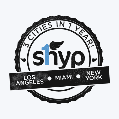 Create a Commemorative Shyp logo