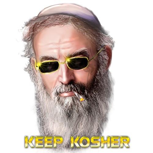 Gangsta Rabbi t-shrt