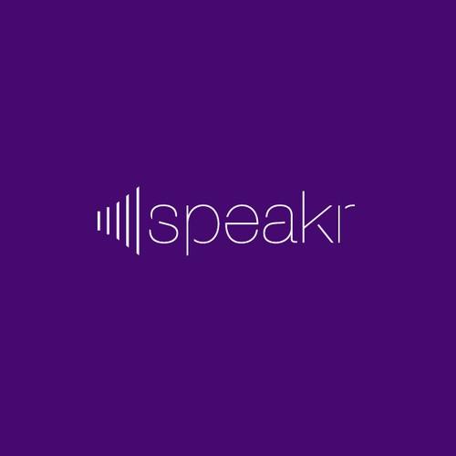 Create an new logo for Social Influencer company Speakr
