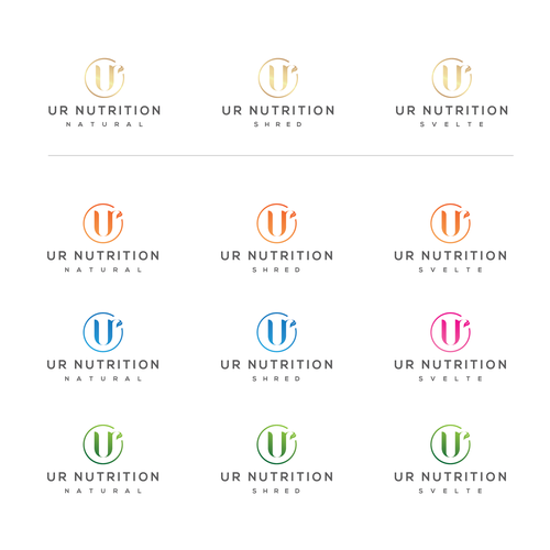 luxury logo for Fashionable Natural Supplement Company!