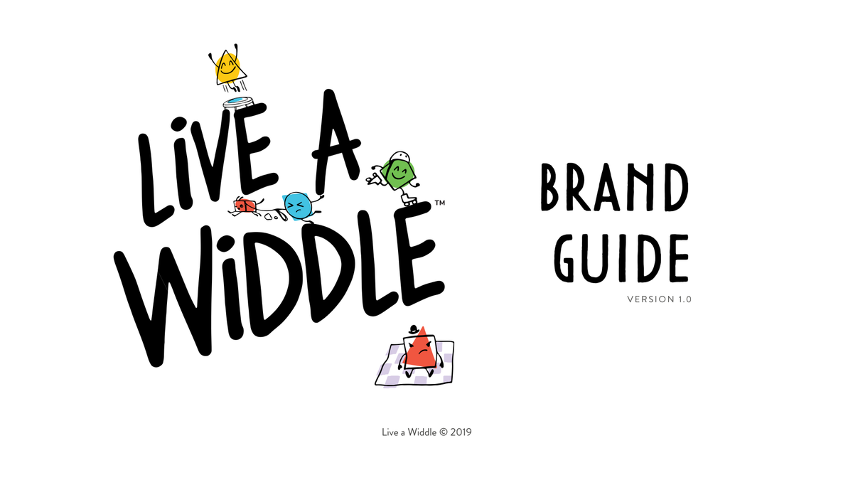 Brand Guide for Live A Widdle