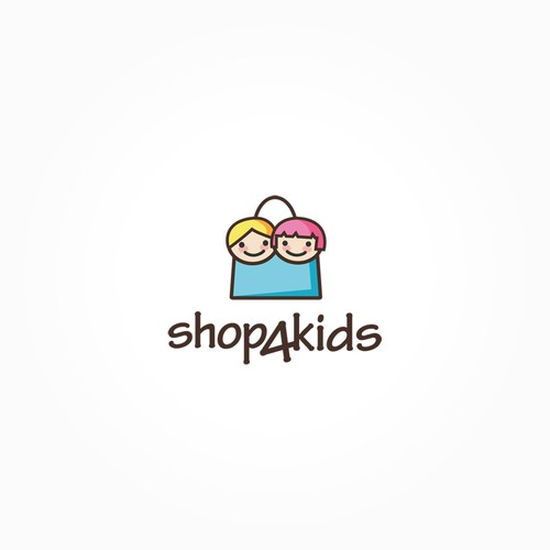 Original, captivating logo for our online kids shop