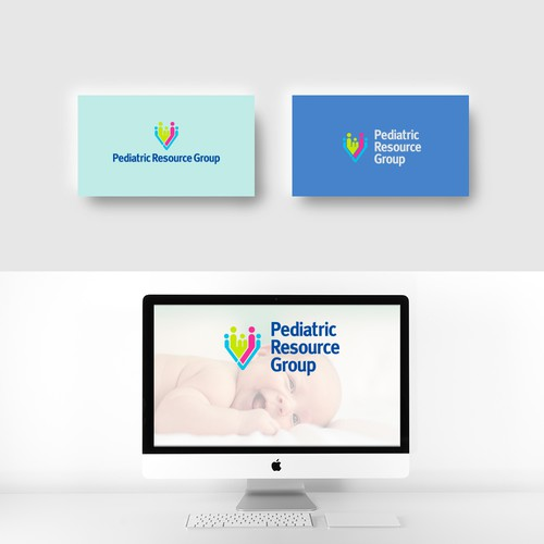 Fun, professional logo for a medical resource company