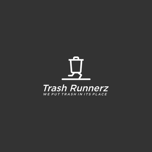 trash run logo