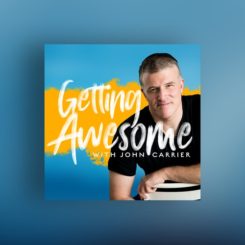 "Podcast cover for ""Getting Awesome"""