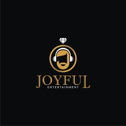 Logo concept for Joyful Entertainment