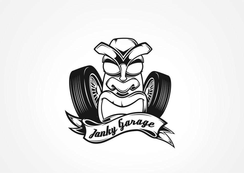 Janky Garage needs a new logo
