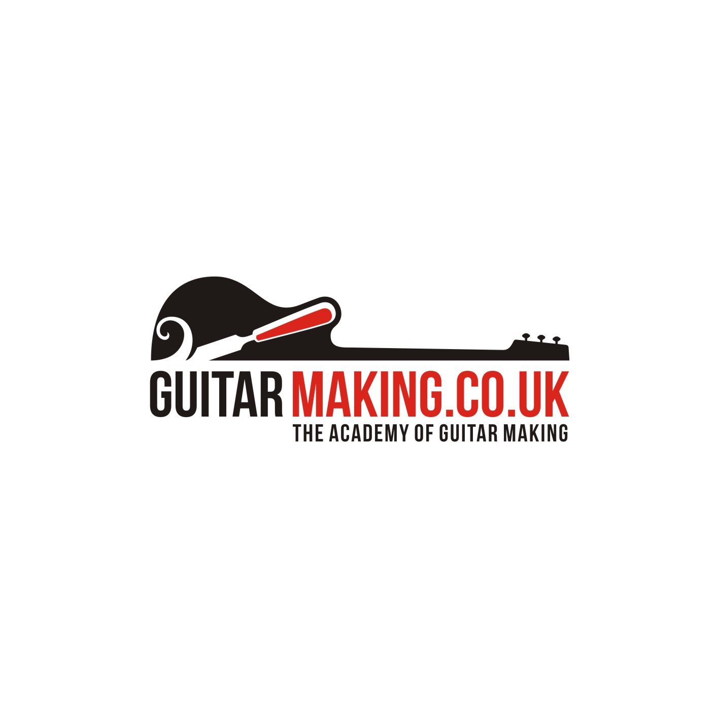 Create a logo for GuitarMaking.co.uk - The Guitar Making Academy