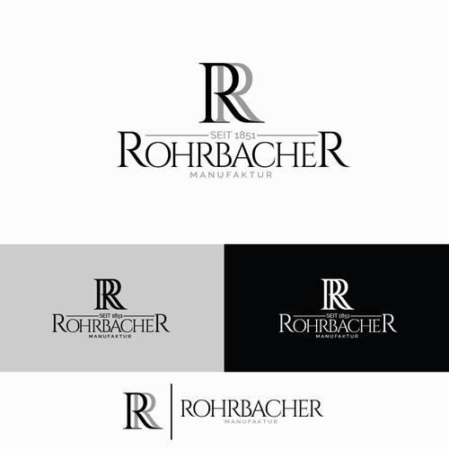 RohrbacheR Logo Concept