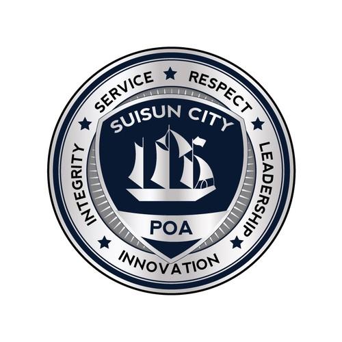 Suisun City Police Officers Association (POA) needs a new logo