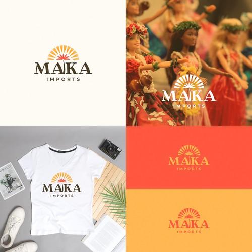 Maka Imports Logo Design