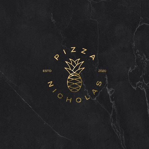 Simple & elegant logo for our London gourmet pizza brand
