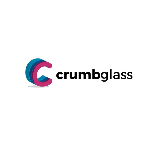 Simple Iconic Logo for Crumbglass