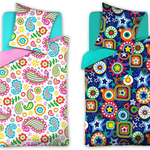 Design a Pattern for Innovative New Bed Comforter