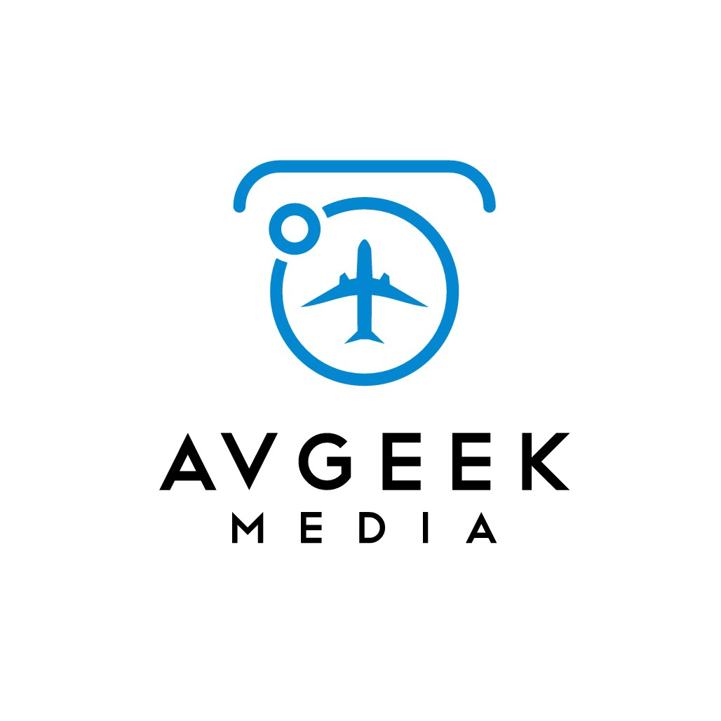 Logo for aviation photography and vlog
