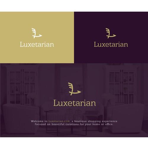 Logo for Luxetarian-boutique