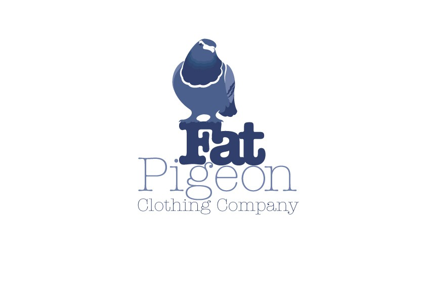 Create the next logo for Fat Pigeon Clothing Company
