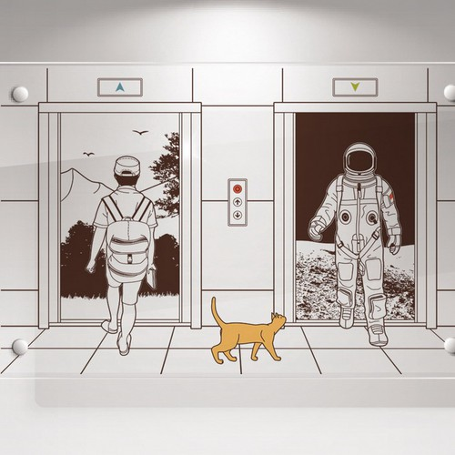 Office Wall Illustrations