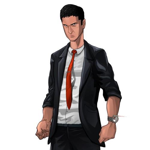 Agent Comic Style