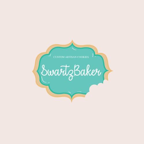 Logo design for an artisanal cookie bakery