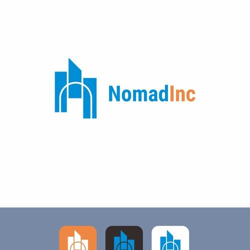 Logo latter N construction