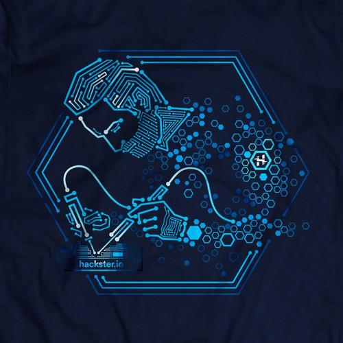 best t-shirt design for Hackster.io