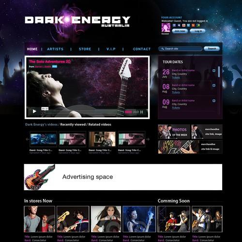 New website design wanted for Dark Energy Australia