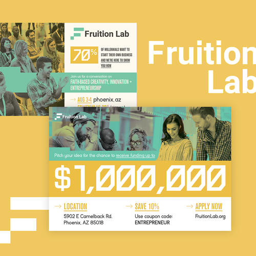 Fruition Lab Conference Postcard