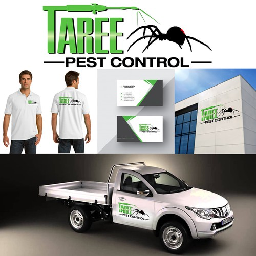 Logo design for a pest control company