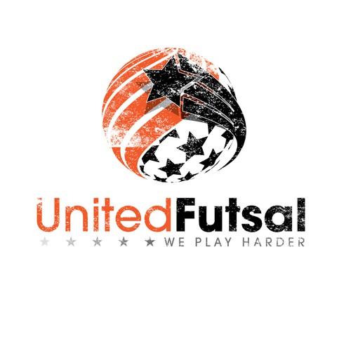 Awesome Logo for United Futsal Soccer/Football League