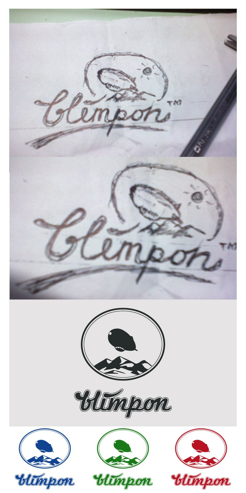 logo for blimpon