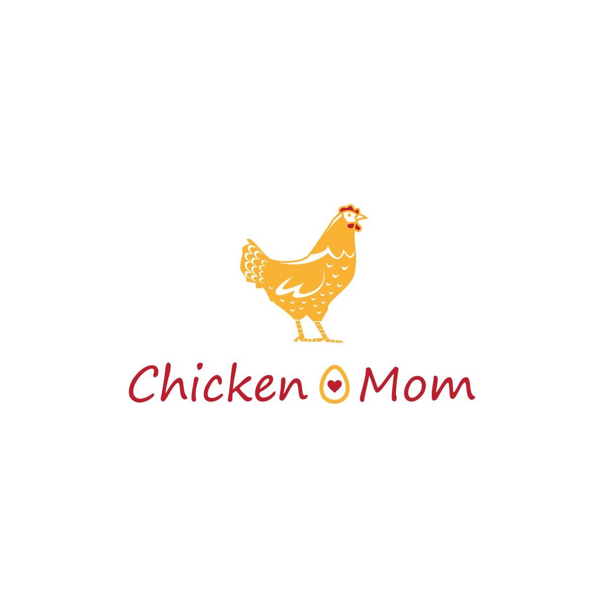 Design a logo for the Chicken Mom website.