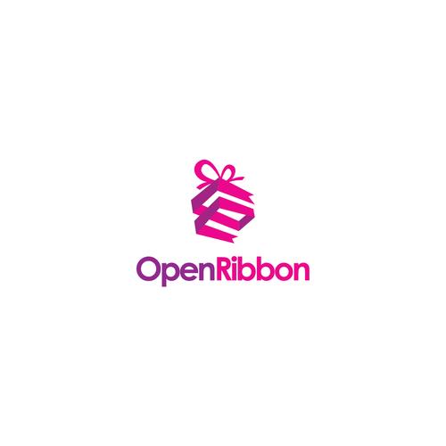 nice logo for open ribbon