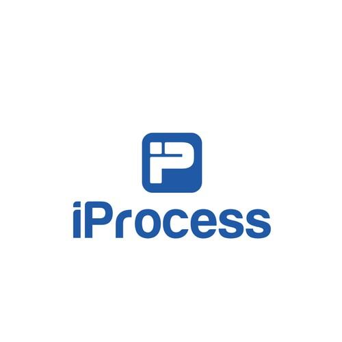 iProcess logo design
