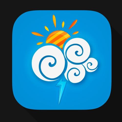 App Icon for iOS Weather App