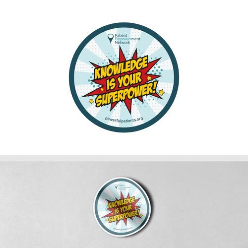 Sticker Design for Patient Empowerment Network